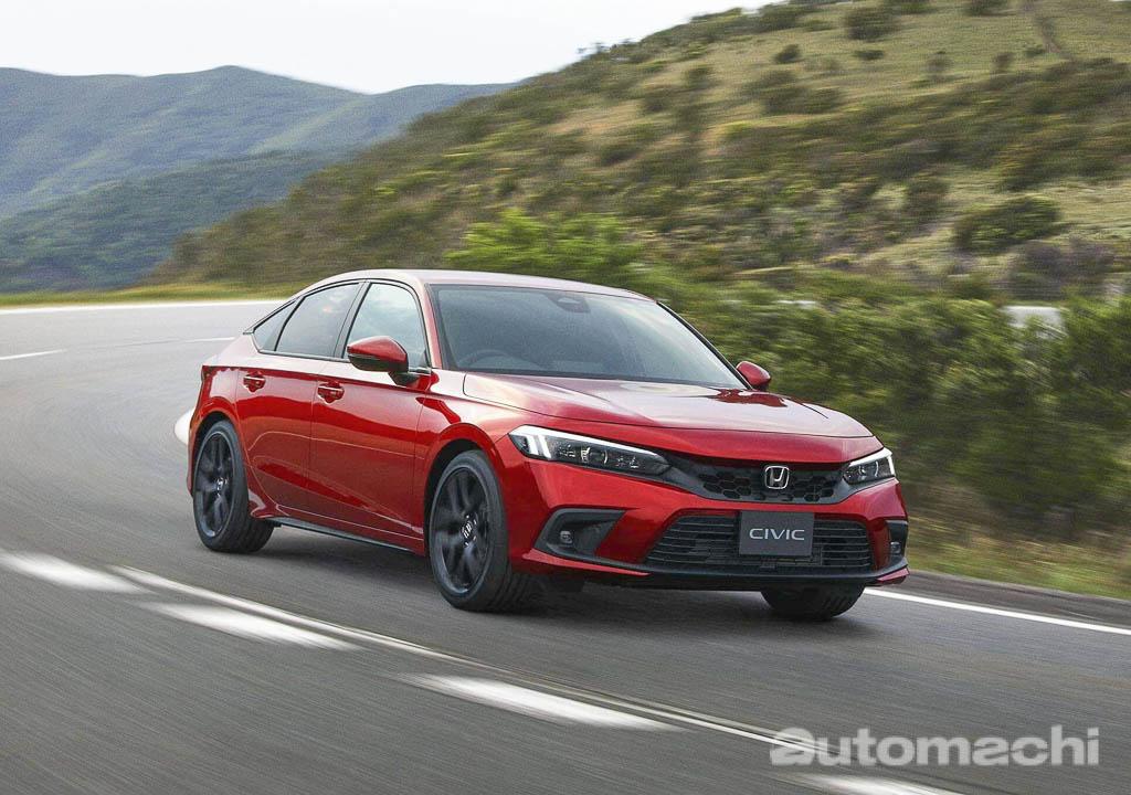 手排版本销量出乎意料的好! 2022 Honda Civic 日本销量大报捷!
