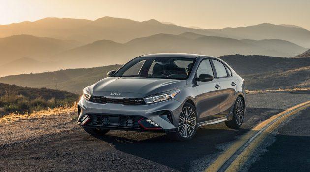 搭1.6L涡轮引擎、更换全新Logo,2022 Kia Forte 正式登陆北美市场!