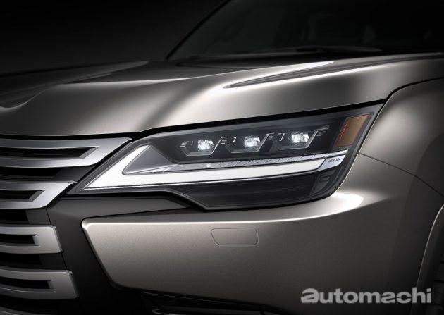 新世代的旗舰 SUV 带给你不一样的体验 ,2022 Lexus LX600 霸气登场!