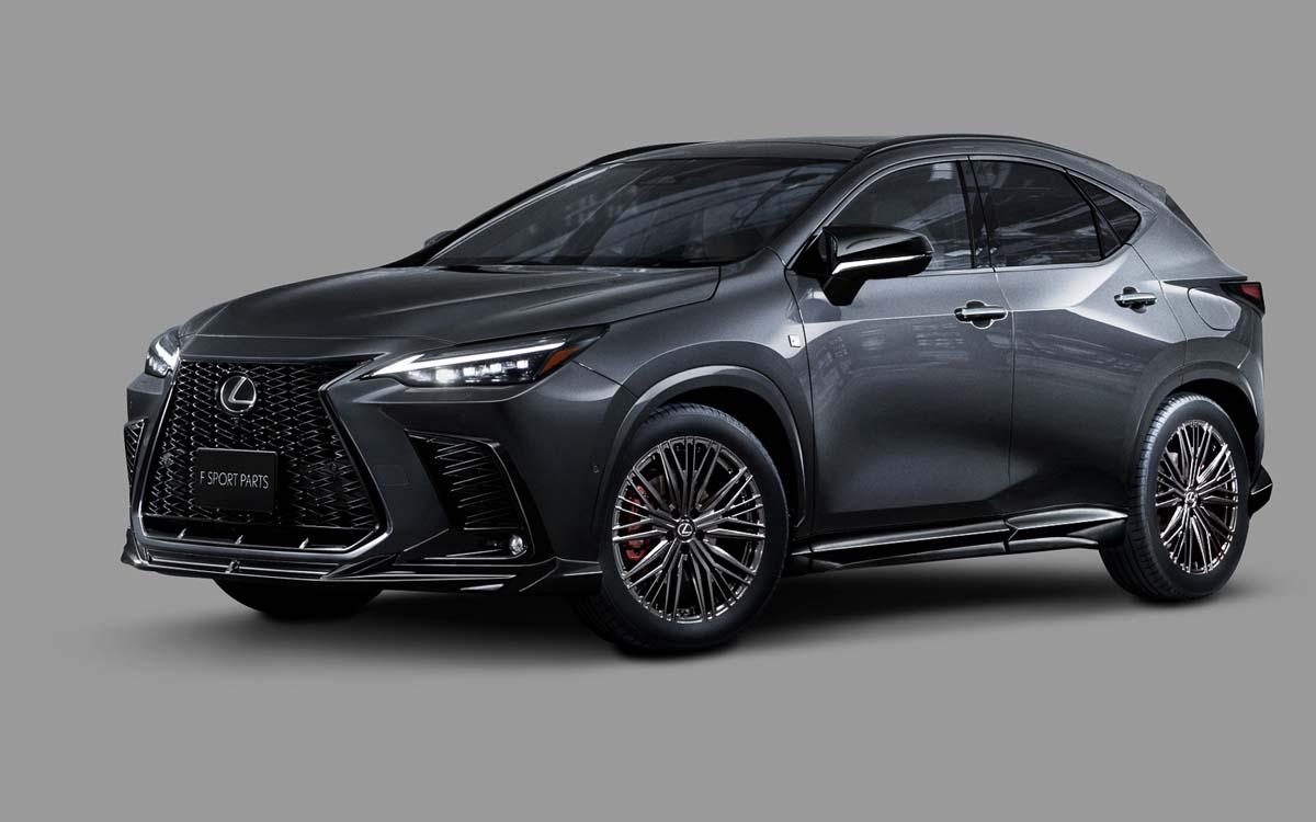 没有最帅只有更帅, 2022 Lexus NX TRD 专属运动套件出炉!