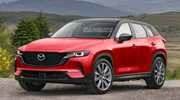 更运动化的 Coupe SUV 、下个月发布,2022 Mazda CX-50 渲染图登场!
