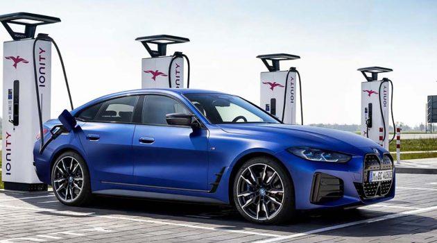 充满电从新山到怡保、而且性能超出色, BMW i4 即将登陆我国市场!