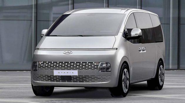 超前卫外观设计的大型MPV!2022 Hyundai Staria 即将在马来西亚发布!