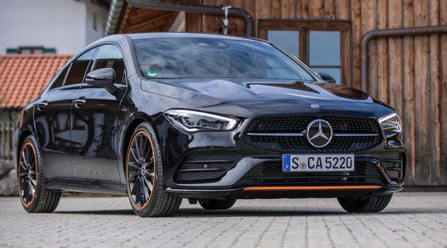 """高颜值的""""轿跑""""也有不错的性能,贸易商引进的 Mercedes-Benz CLA250 开价约RM 355,000!"""