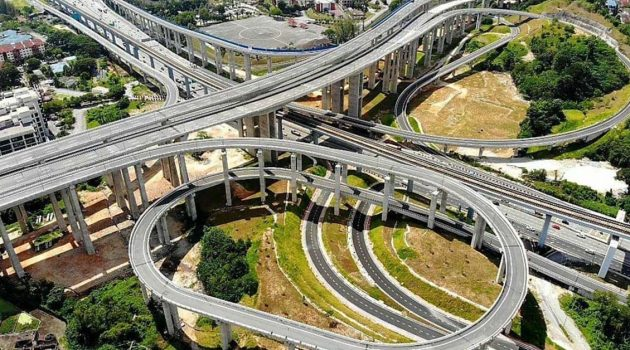 完工将可以舒缓巴生谷交通,Sungai Besi–Ulu Klang Elevated Expressway 空拍图曝光