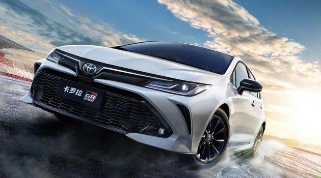 Toyota Corolla GR-Sport 官图公开!添加赛道基因、外观比普通版更帅气!